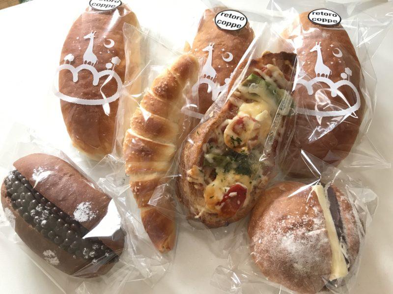 いろめがね のパンたち
